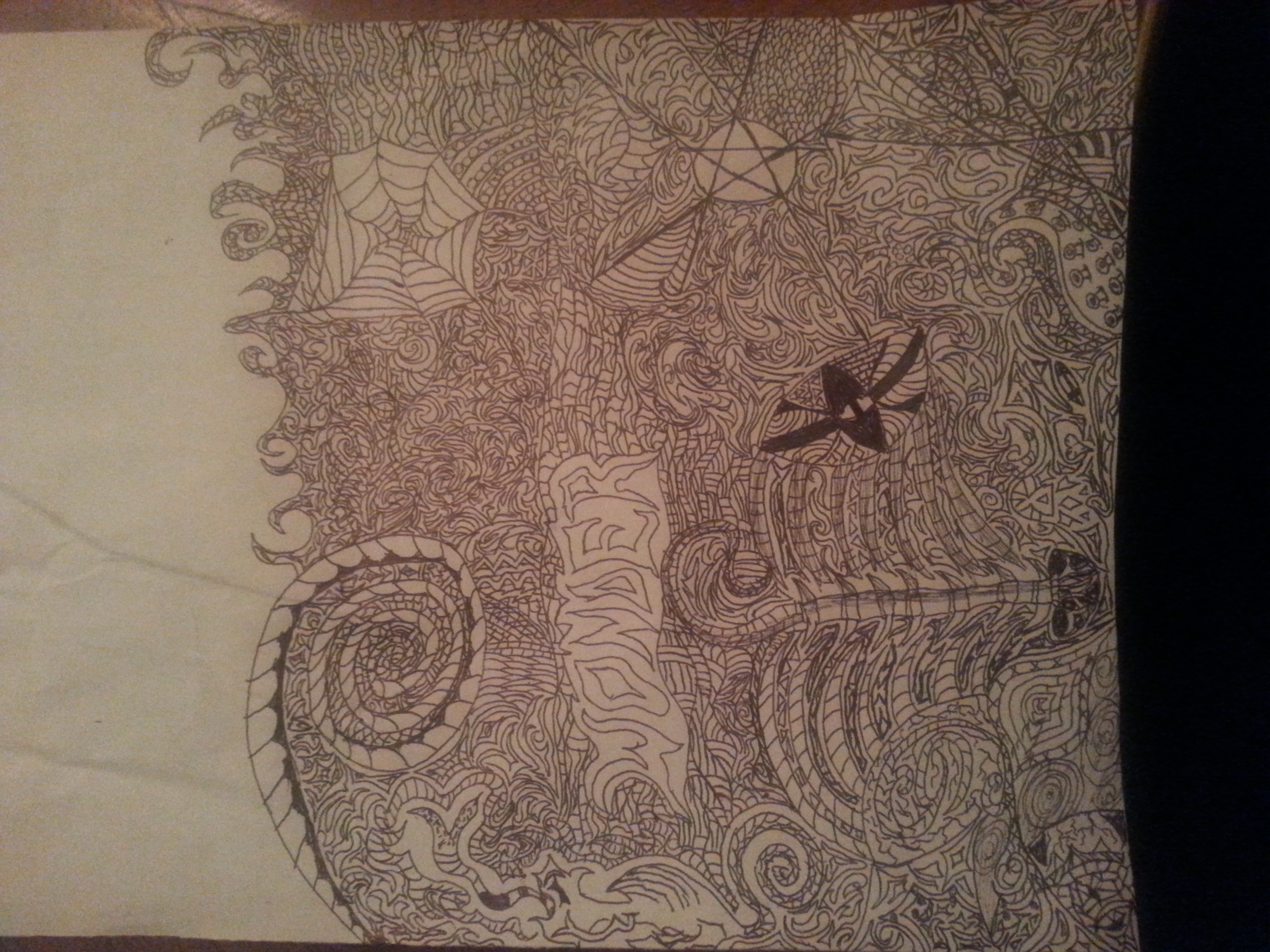 Trippy picture I drew sober