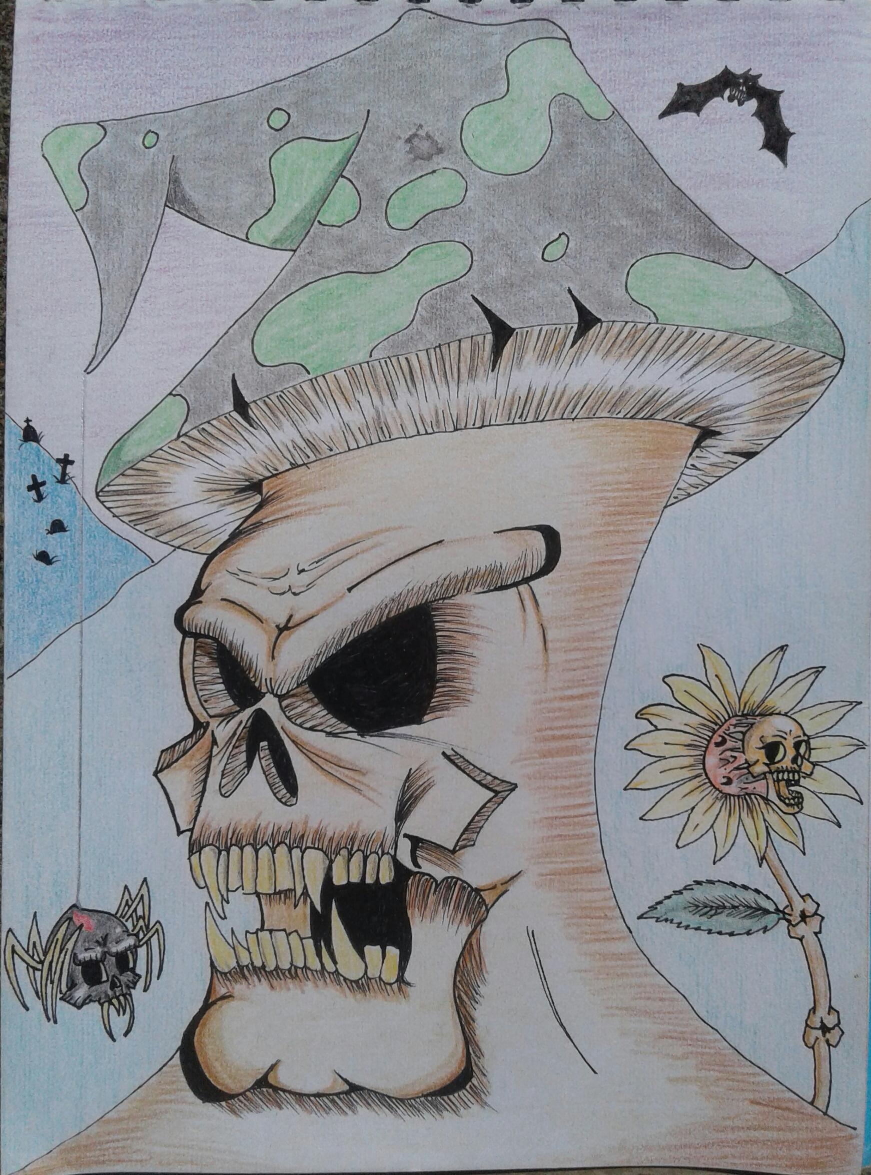 Skull Shroom