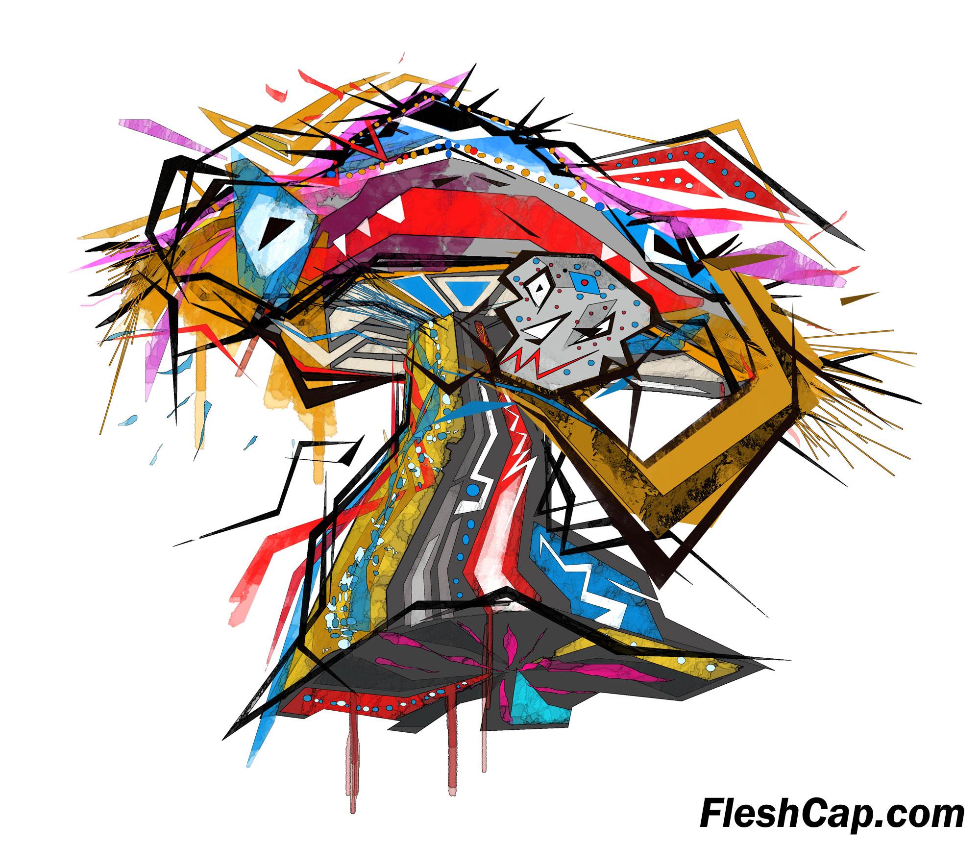 Fleshcap Mushroom by Enrique
