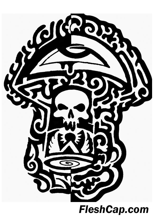 Fleshcap Mushroom by Star Arts with Guts