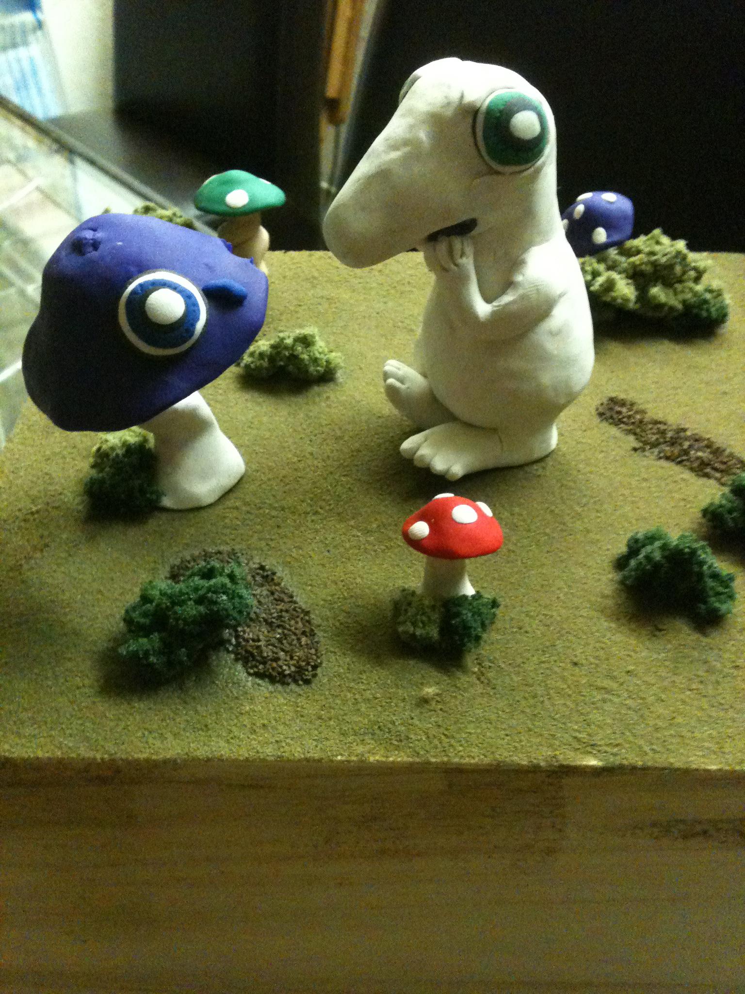3D mushies