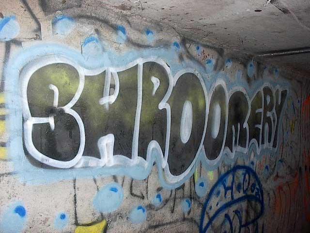 Shroomery Graffiti