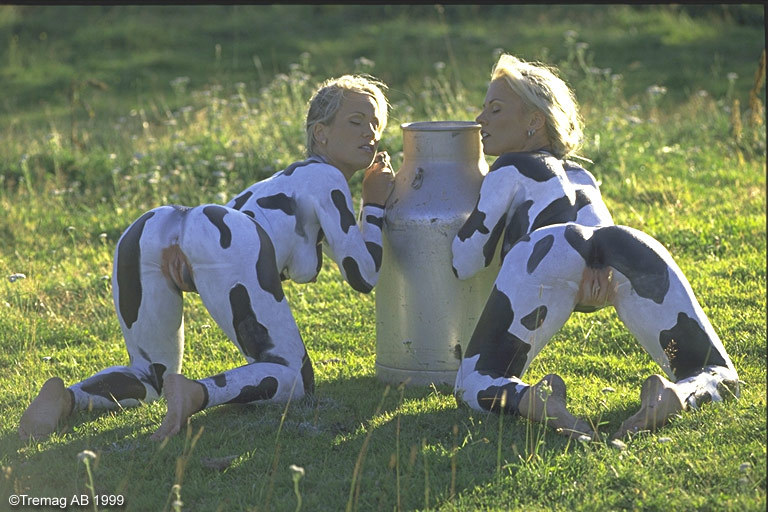 ебут корову фото