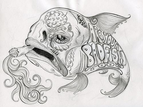 Those who have many tattoos the pub shroomery message for Is fish bad for you