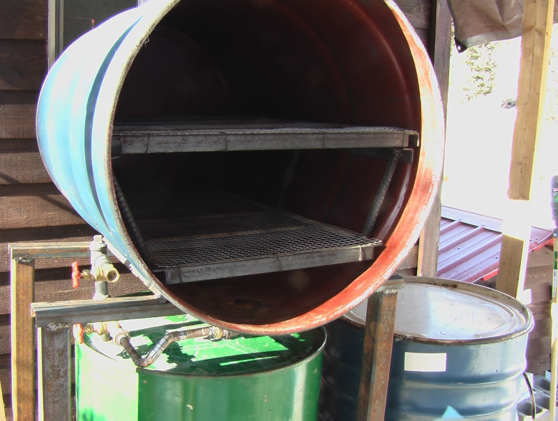 55 Gallon Drum Sterilizer Gourmet And Medicinal