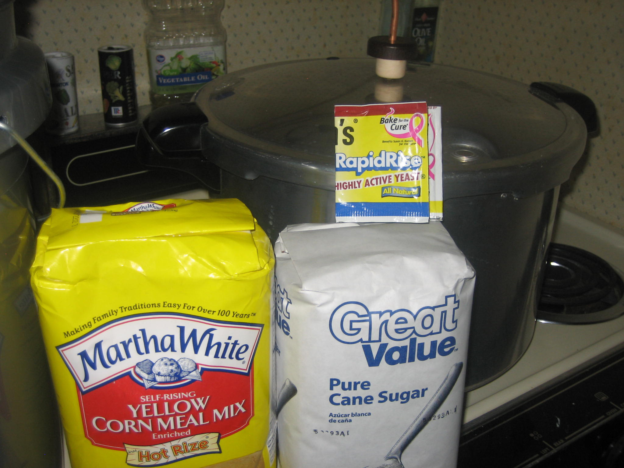 5 Gallon Cornmeal Moonshine Mash Recipe