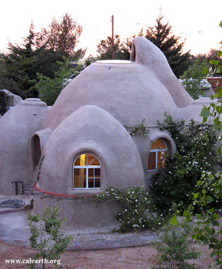 Construction Concrete Dome Home: Eco-Domes And Earth Bag Homes