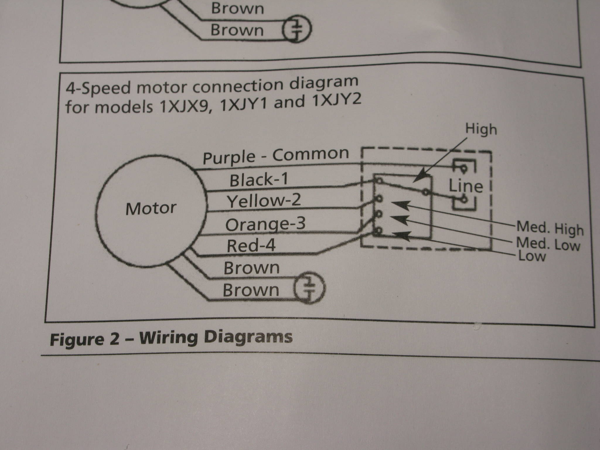 Wiring Diagram Blue Brown : Xjy dayton motor wiring flowhood mushroom