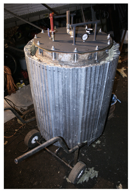 Home-made 100 Gallon Autoclave / Pressure Cooker (with Pics