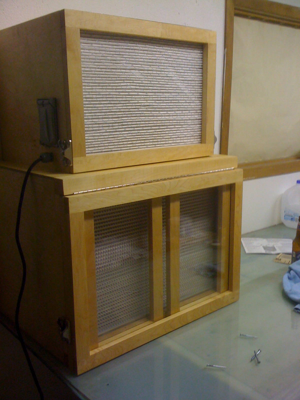 how to build a flow hood
