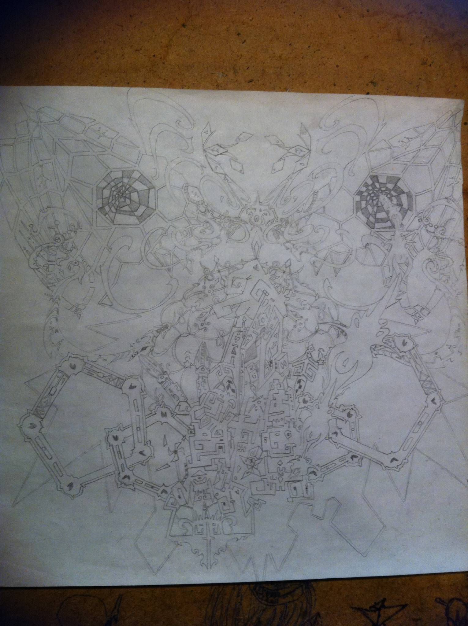 New Dmt Trip Drawing The Psychedelic Experience Shroomery