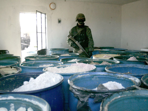 Mexican army finds 15 tons of pure methamphetamine ...