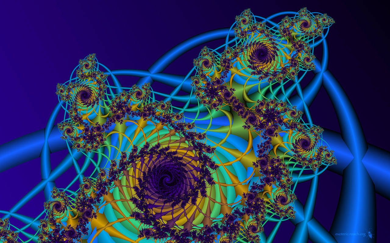 dreamy fractals abstract trippy-#45