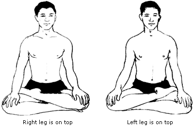 legs falling asleep during meditation physical and