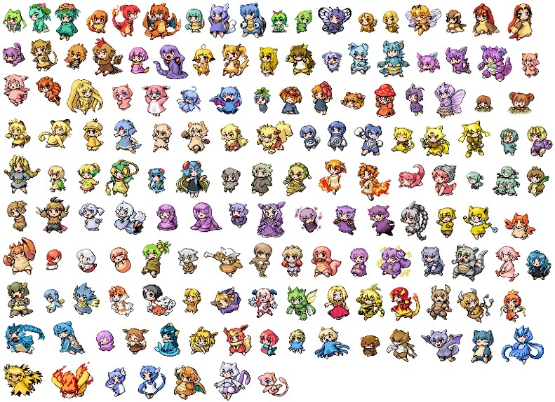 Pokemon Chaos Black Pokedex | Car Interior Design