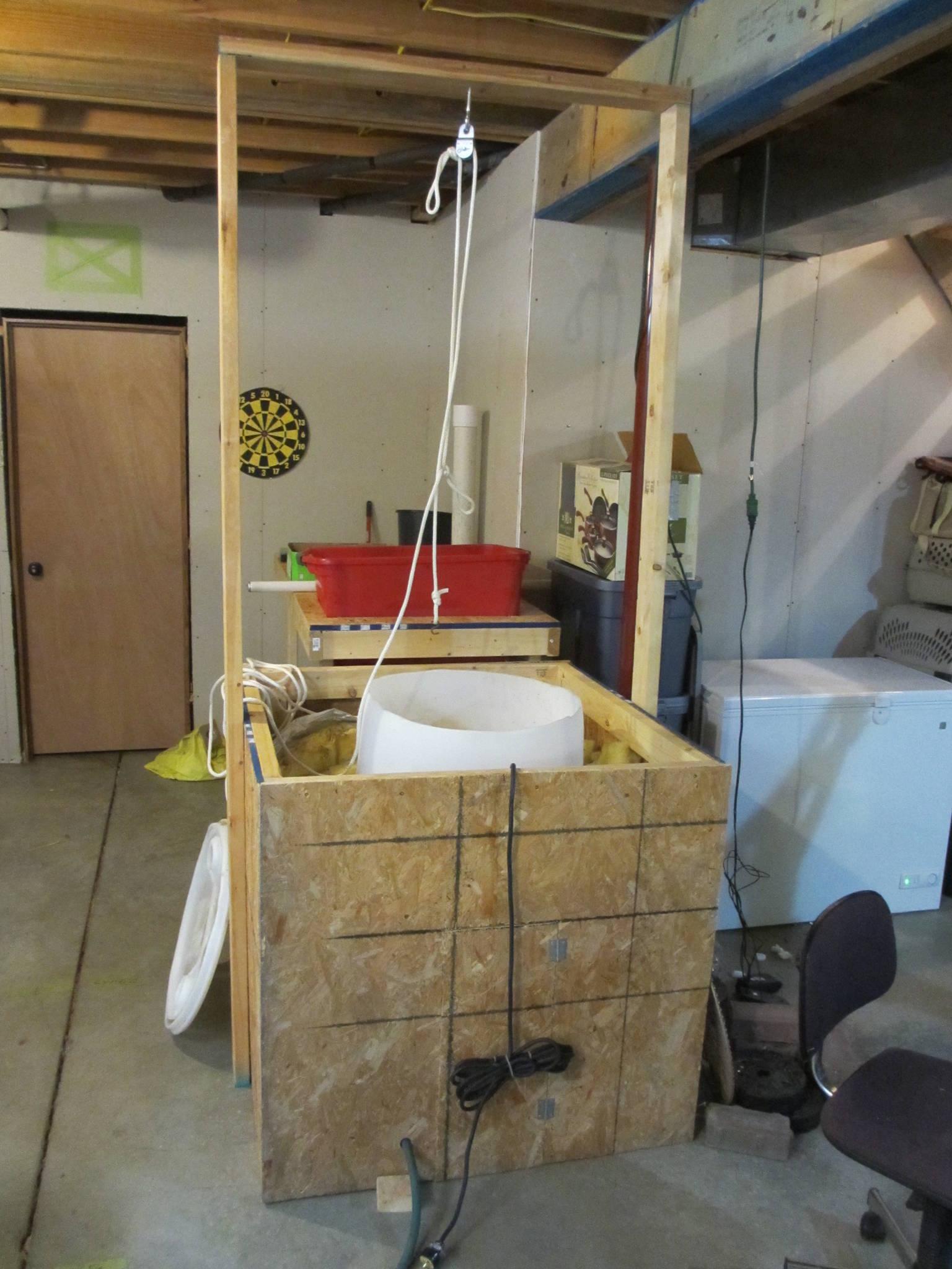 basement greenhouse grow gourmet and medicinal mushrooms shroomery