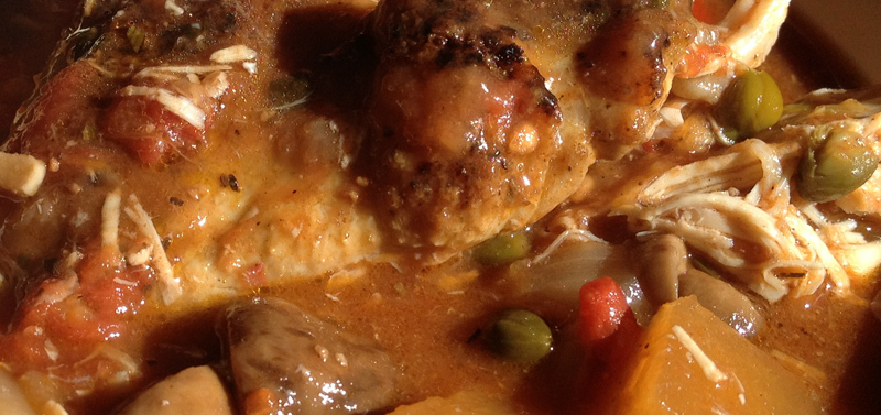 Chicken Cacciatore (Hunter Style Chicken) Recipes — Dishmaps