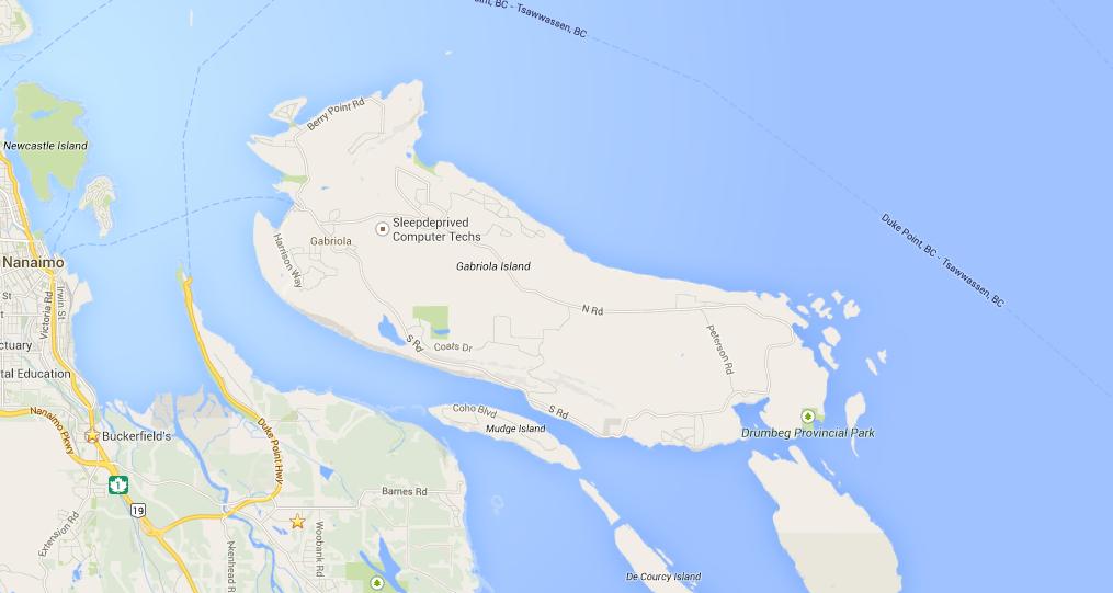 Descanso Bay Regional Park Gabriola Island