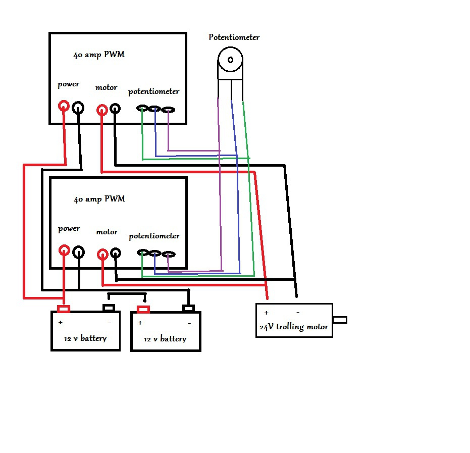 Wiring Diagram 24v Manual Guide Speed Controller Trolling Motor Impremedia Net Relay For Alternator