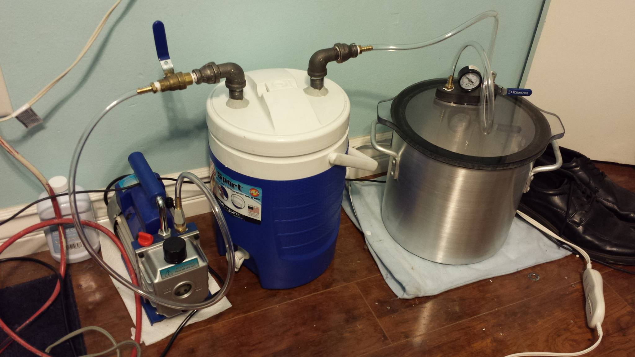 diy freeze drying machine