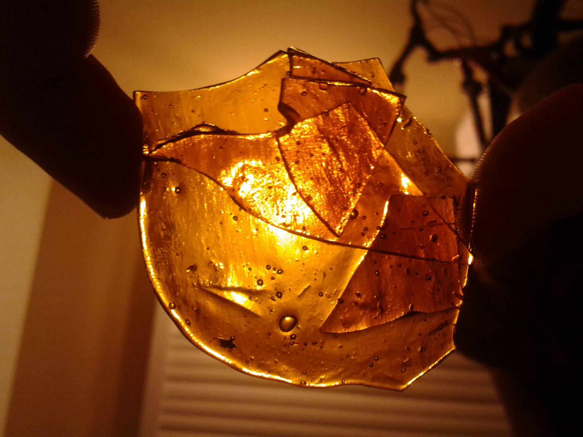 how to make honeycomb wax bho