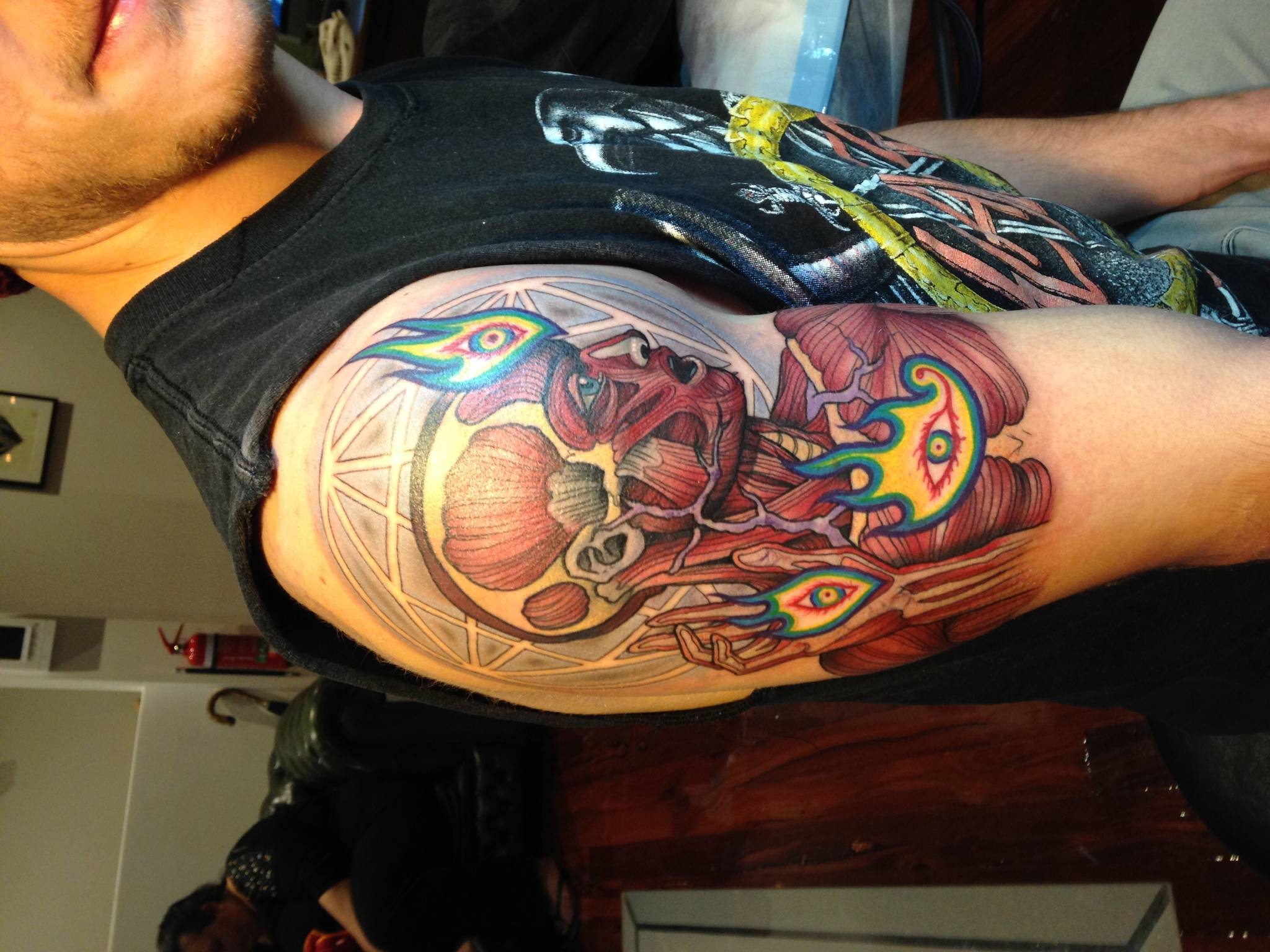 Alex Grey/ Tool Lateralus tattoo - The Pub - Shroomery