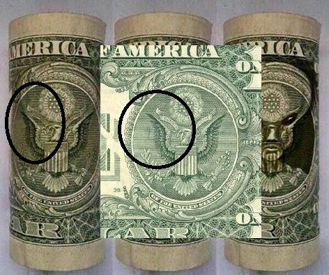 Alien on the dollar bill? What do you think? - The Pub ...Dollar Bill Secrets Alien