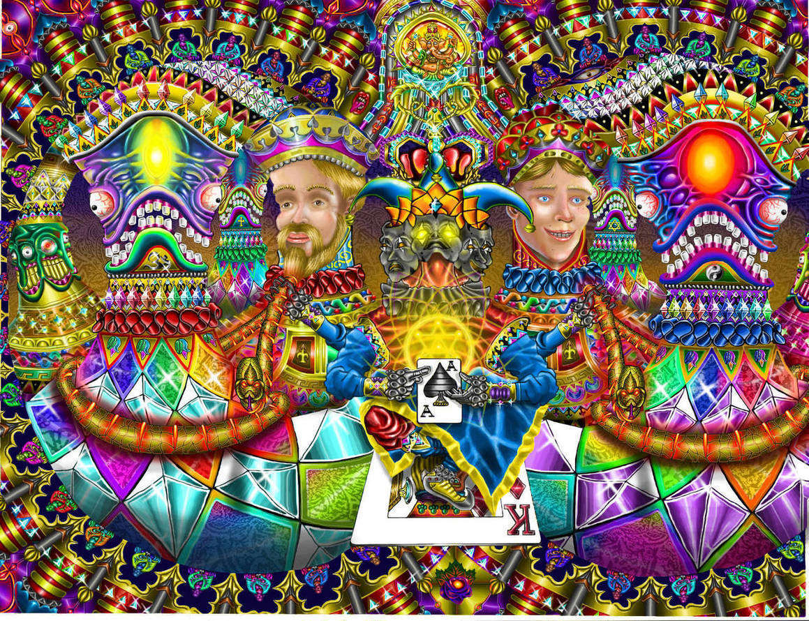 DMT clown , jokers - The Psychedelic Experience ...