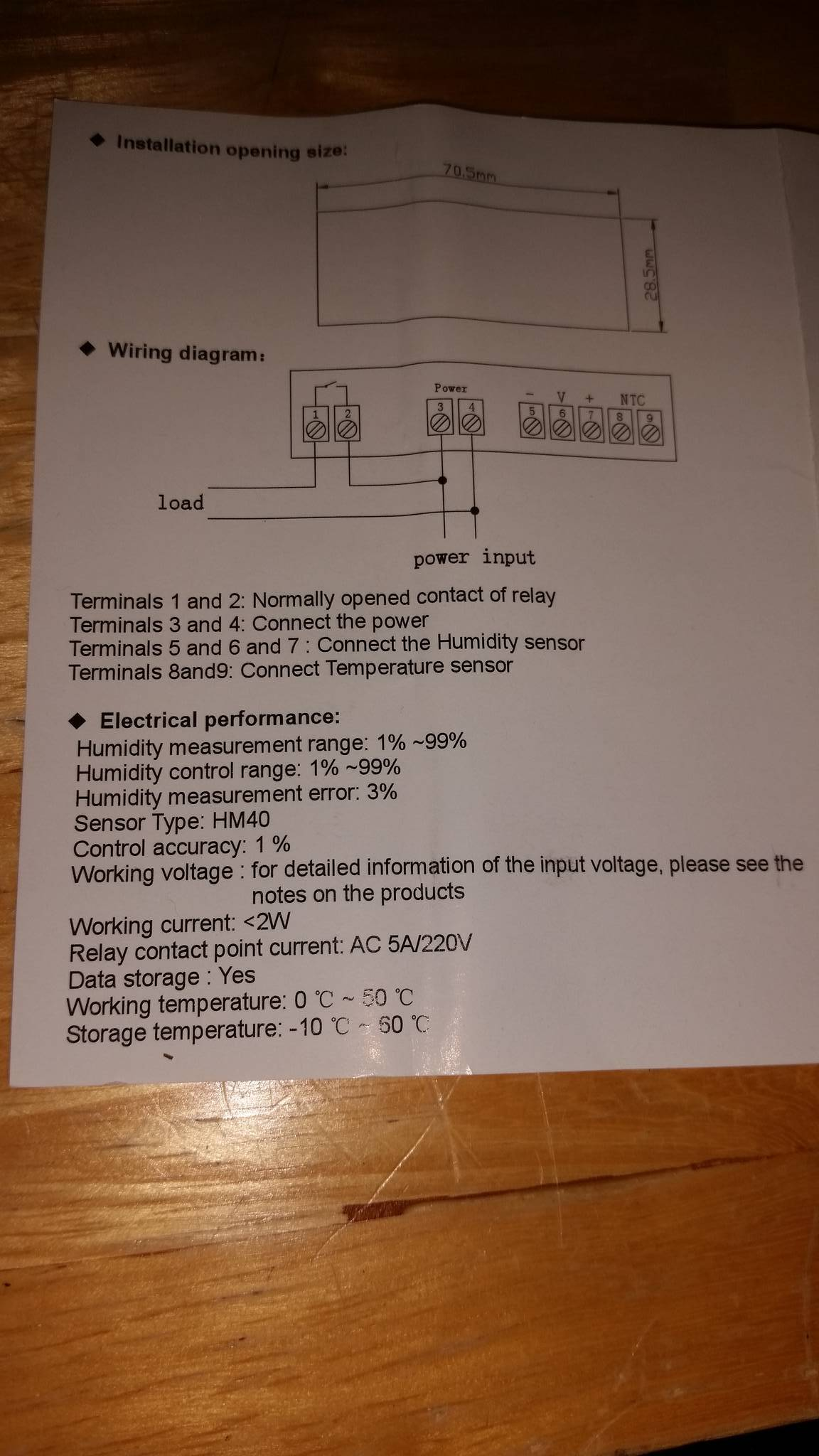 Need Help With Humidity Controller Mushroom Cultivation Wiring Diagram Sure Thing