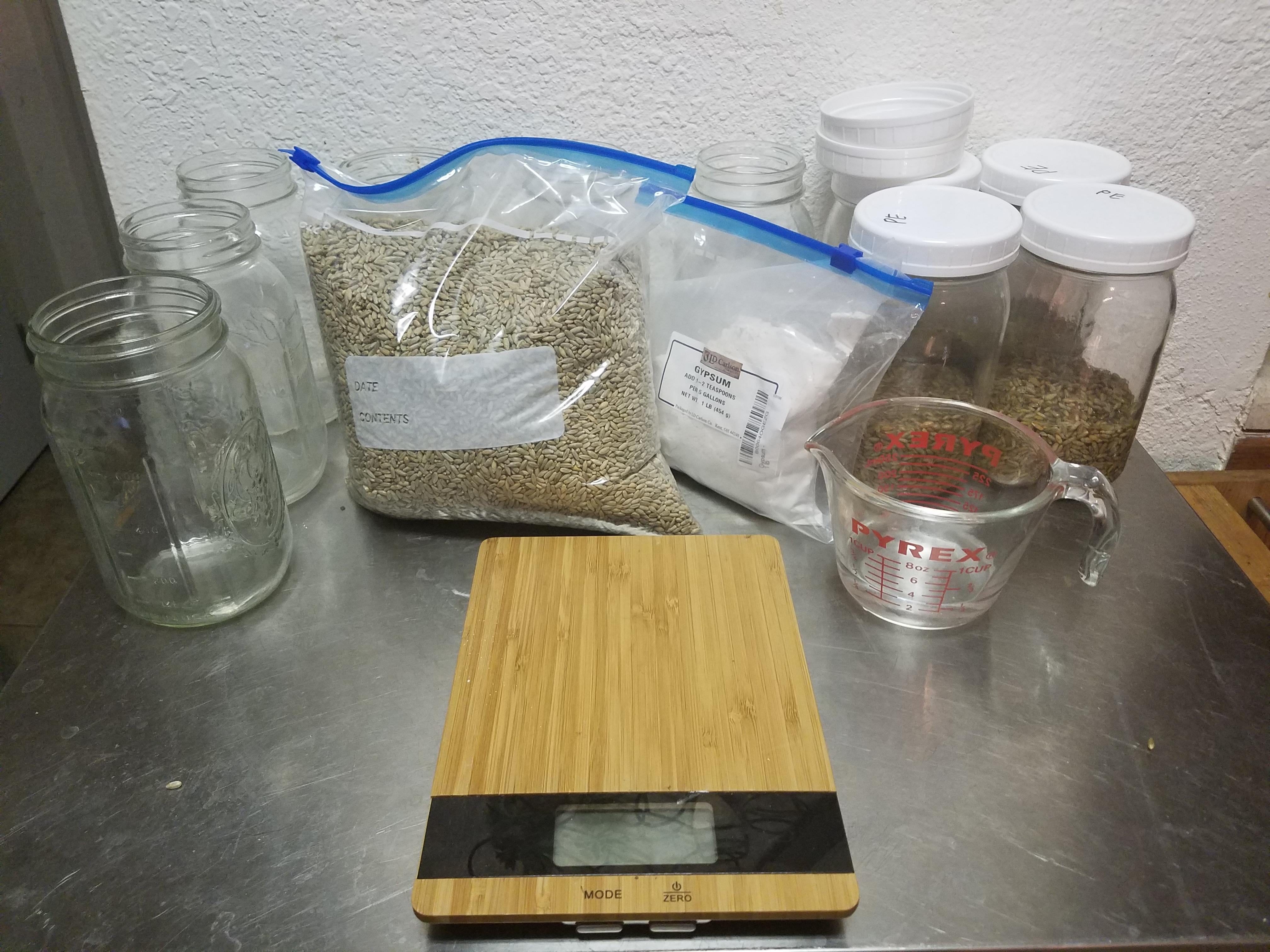 Leon's dry grain TEK : Rye - Mushroom Cultivation